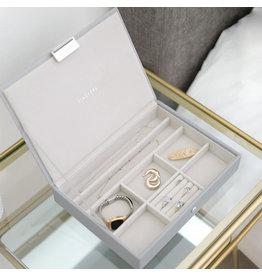 Stackers Boîte à bijoux Pebble Grey Classic top