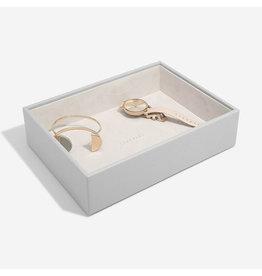 Stackers Boîte à bijoux Pebble Grey Classic 1 compartiment