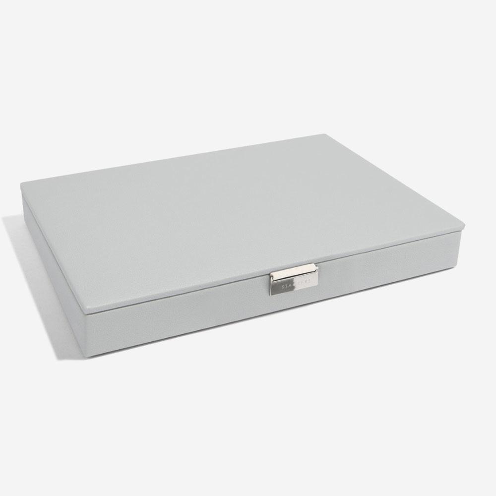 Boîte à Bijoux Pebble Grey Supersize Couvercle