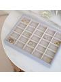 Boîte à bijoux Lavender Classic 25 compartiments