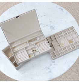 Stackers Sieradendoos Pebble Grey Supersize set
