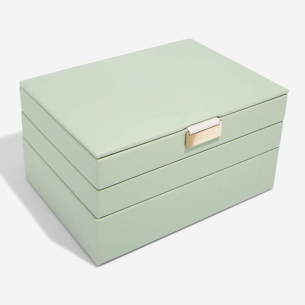 Schmuckschatulle Sage Green Classic Set