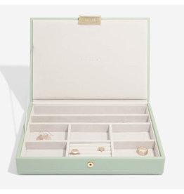 Stackers Boîte à bijoux Sage Green Classic top