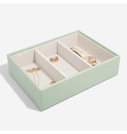 Stackers Boîte à bijoux Sage Green Classic 3 compartiments