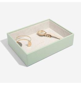 Stackers Boîte à bijoux Sage Green Classic 1 compartiment