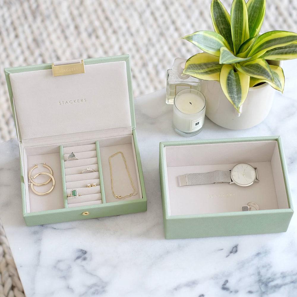Schmuckschatulle Sage Green Mini Set