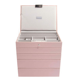 Stackers Sieradendoos Soft Pink Classic set 5