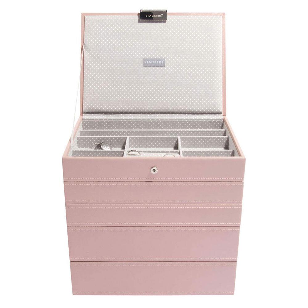 Boîte à Bijoux Soft Pink Classic Ensemble 5