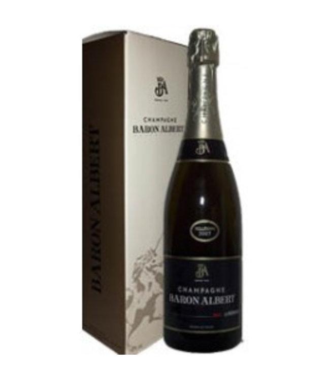 Champagne Baron Albert Champagne Baron Albert La Préférence Brut in geschenkverpakking 2009