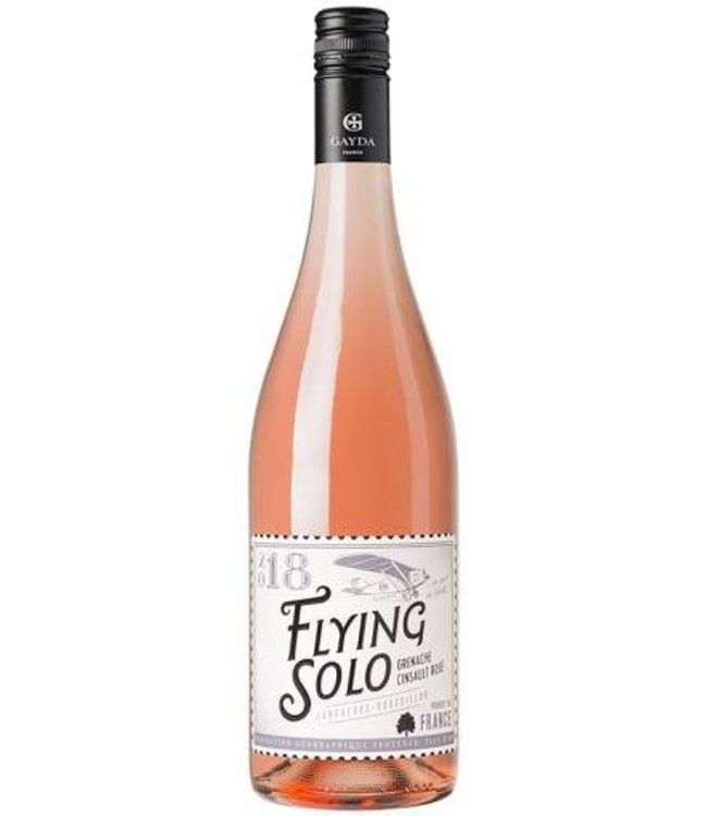 Gayda Flying Solo Rosé IGP Pays d'Oc 2018