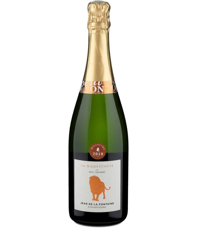 Champagne Jean de la Fontaine La Majestueuse Millesime 2010 Brut