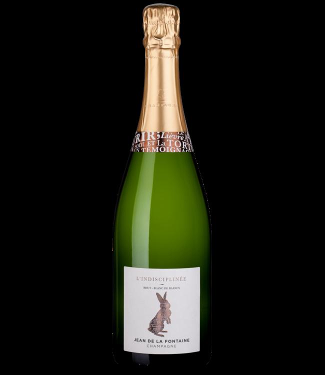 Champagne Jean de la Fontaine L'Indisciplinée Blanc des Blancs Brut