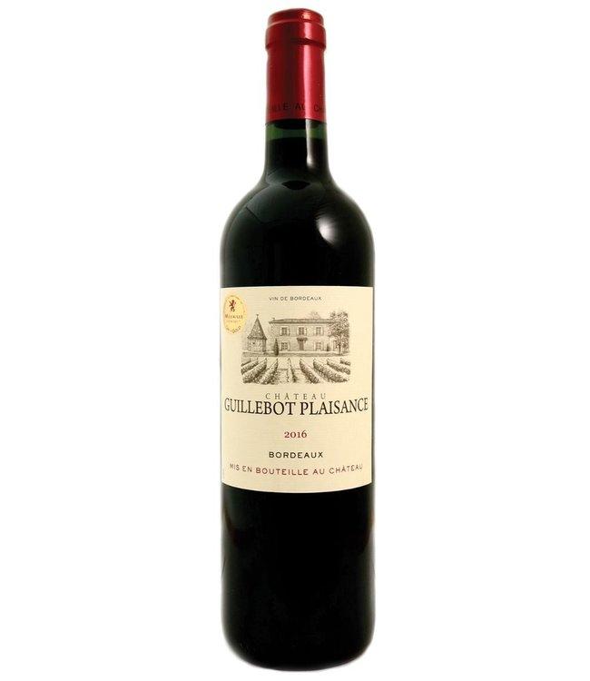 Château Guillebot Plaisance Bordeaux Rouge 2018
