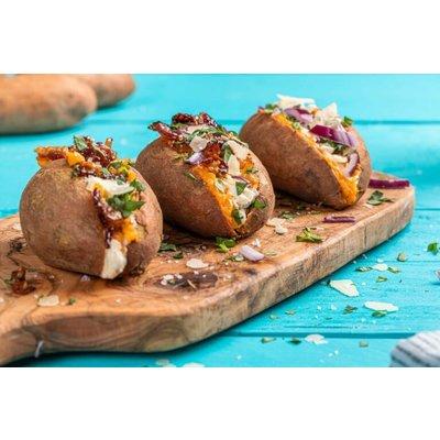 Zoete aardappel met Primitivo