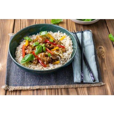 Rijst met kip en Spätburgunder