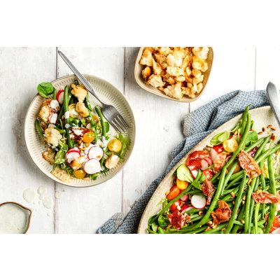 Haricots verts salade met Arinto