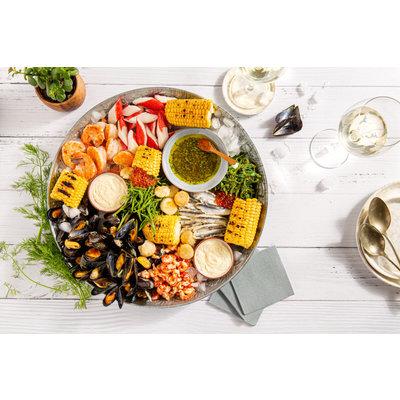 Fruits de mer met Chablis