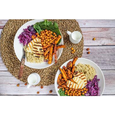 Quinoa veggie bowl  met  I Muri Bianco