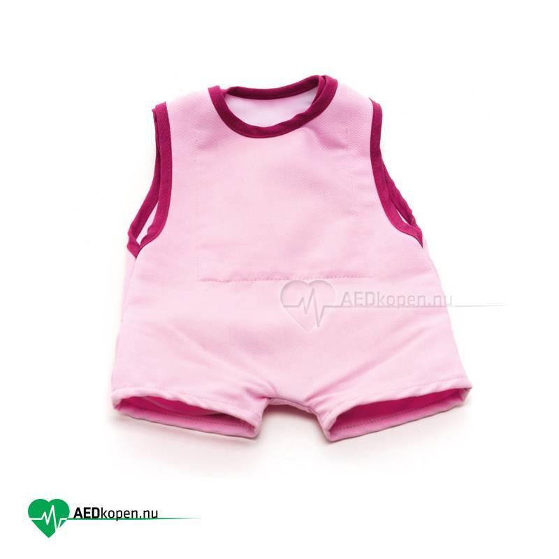 Laerdal Kleding Baby Anne met ribplaat