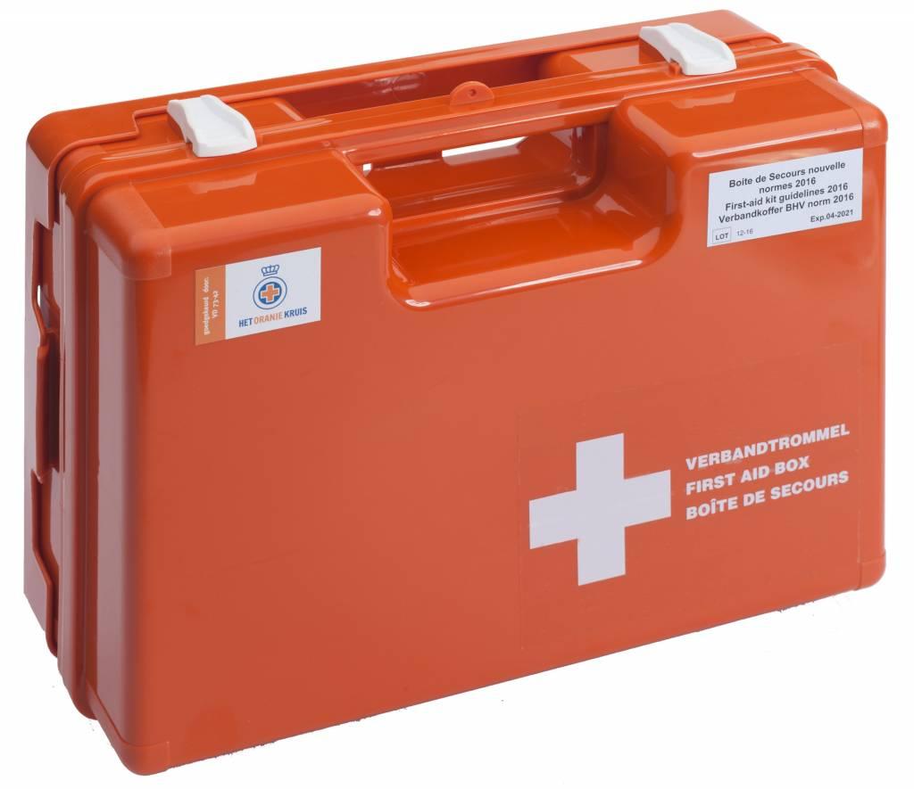 AEDkopen verbandkoffer met letselsets