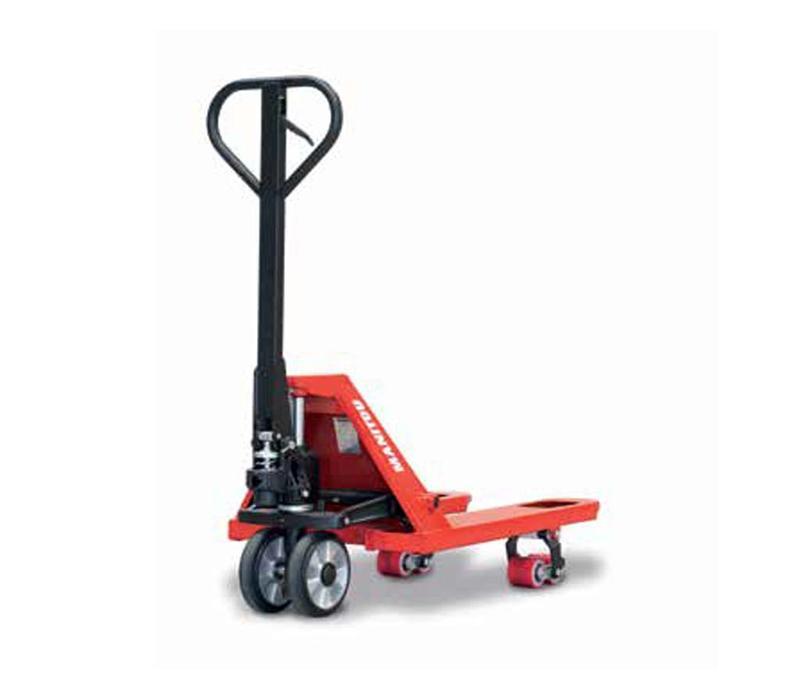 Palletwagen met korte vorken - 2.500 kg hefvermogen