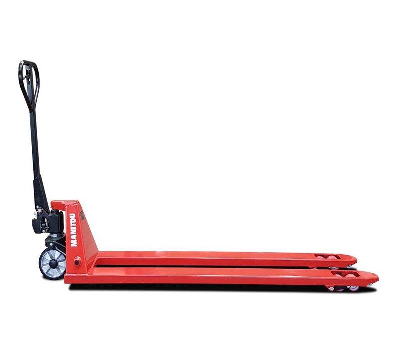 Palletwagen met lange vorken - 2000kg hefvermogen