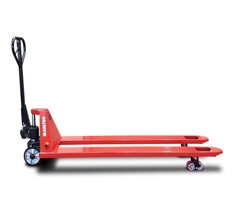 Manitou  palletwagen met lange vorken