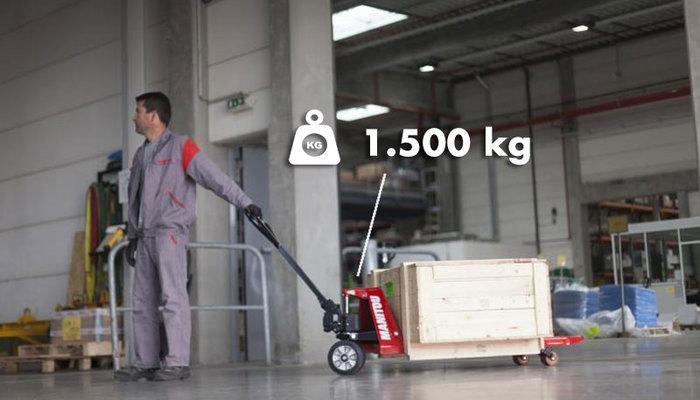 Palletwagens tot 1500kg