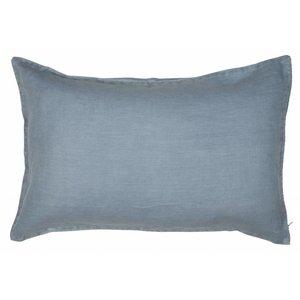 IB Laursen Kissenbezug staubig blau 40x60