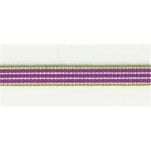 Webband purple Stripe