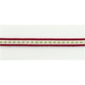 Webband thin red Stripe