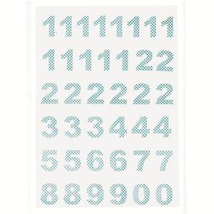 GreenGate Calender Numbers Ida pale blue, 1-24