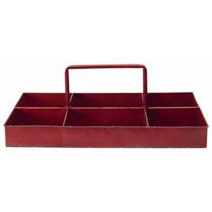 GreenGate Iron Storage Tray red