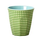 Rice Melamine Cup Dot