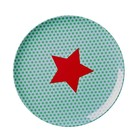 Rice Melamine Plate Star