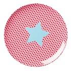Rice Melamine Plate Girls Star