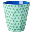 Rice Medium Melamine Cup with Star Print