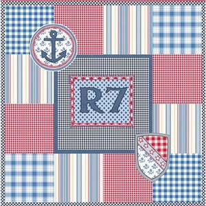Room Seven Kissenbezug R7 Patchwork Boys 50