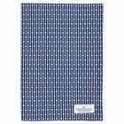 GreenGate Tea Towel Dawn blue