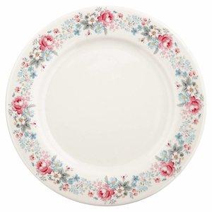 Dinner Plate Marie pale grey