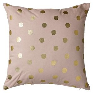 Bloomingville Cushion Rose/Gold Confetti 45x45