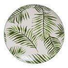 Bloomingville Jade Plate green Leaf
