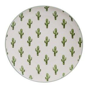 Bloomingville Jade Plate green Cactus D: 20