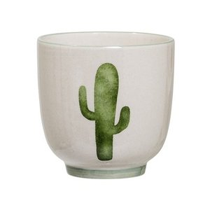 Bloomingville Jade Small Cup green Cactus 7x7