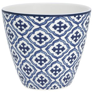 GreenGate Latte Cup Hope blue