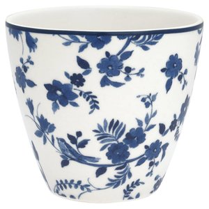 GreenGate Latte Cup Vanessa blue