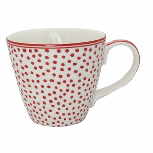 Green Gate Henkeltasse Dot white