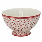 Green Gate French Bowl Dot white M