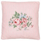 Green Gate Quilted Cushion Marley pale pink embr