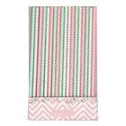 Paper straw Ziggy pink